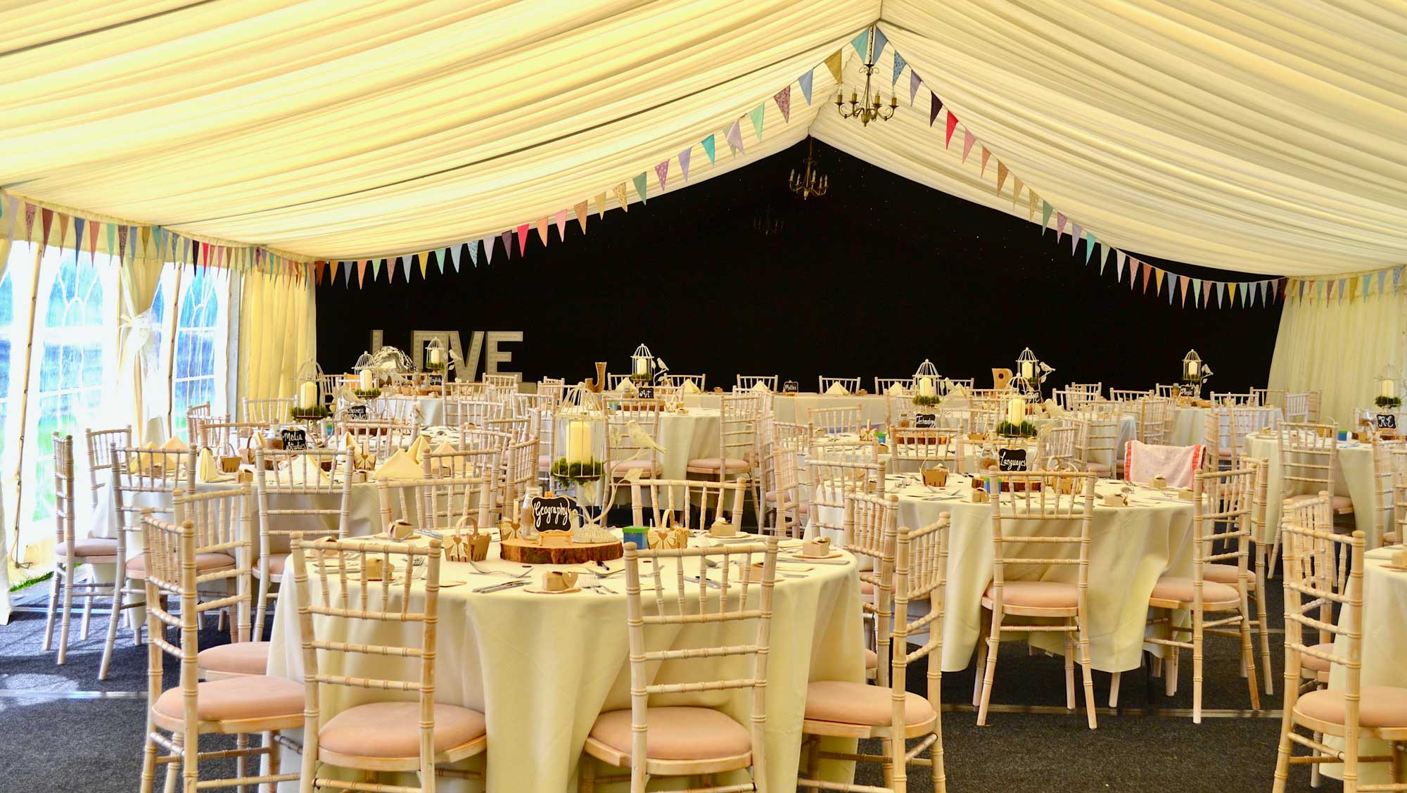 Professional wedding event accessory hire in leeds york 4 junglespirit Image collections